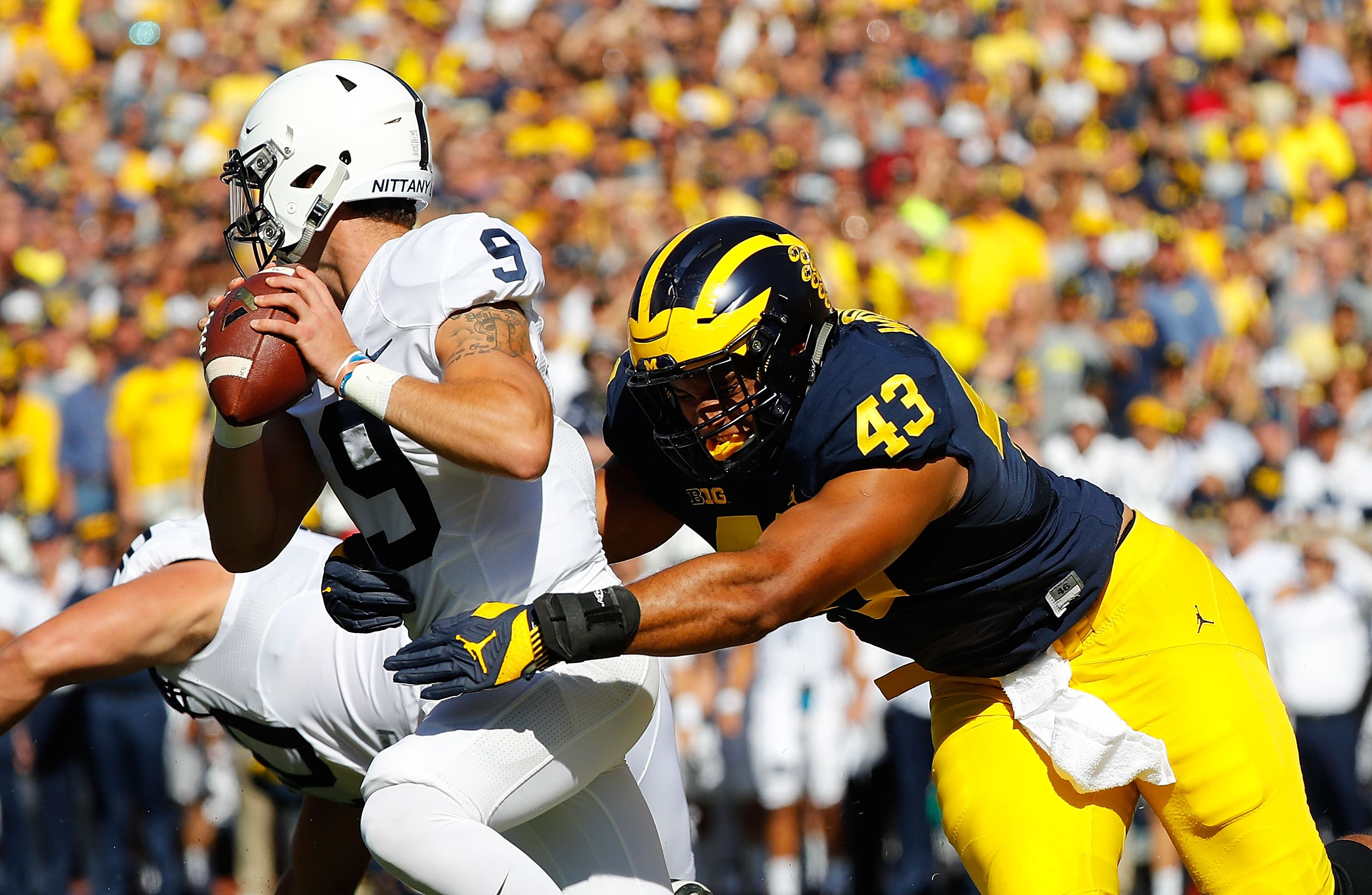 2017 NFL Draft: Reviewing Michigan DE Chris Wormley