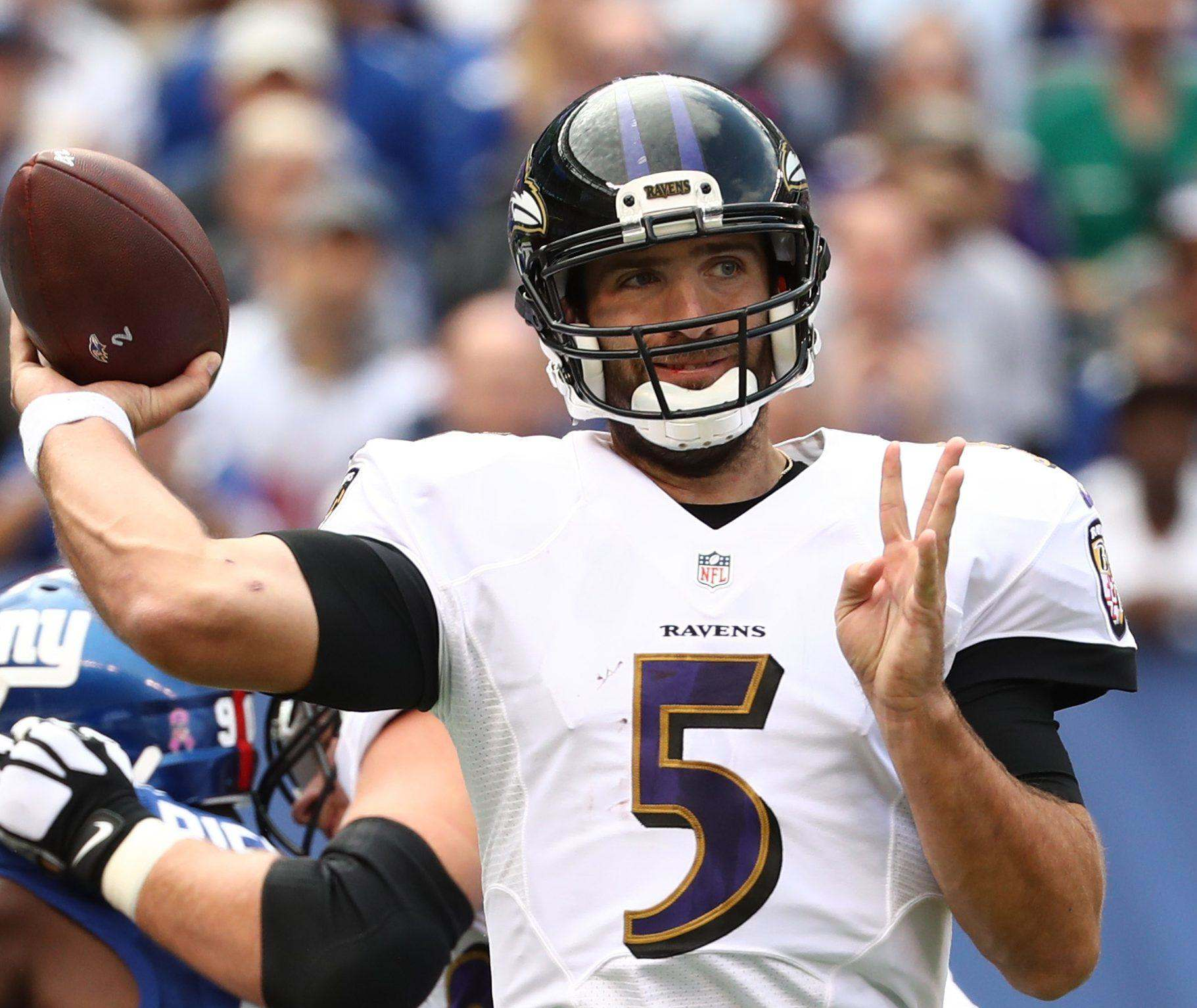 Ravens QB Joe Flacco Misses Second Straight Practice