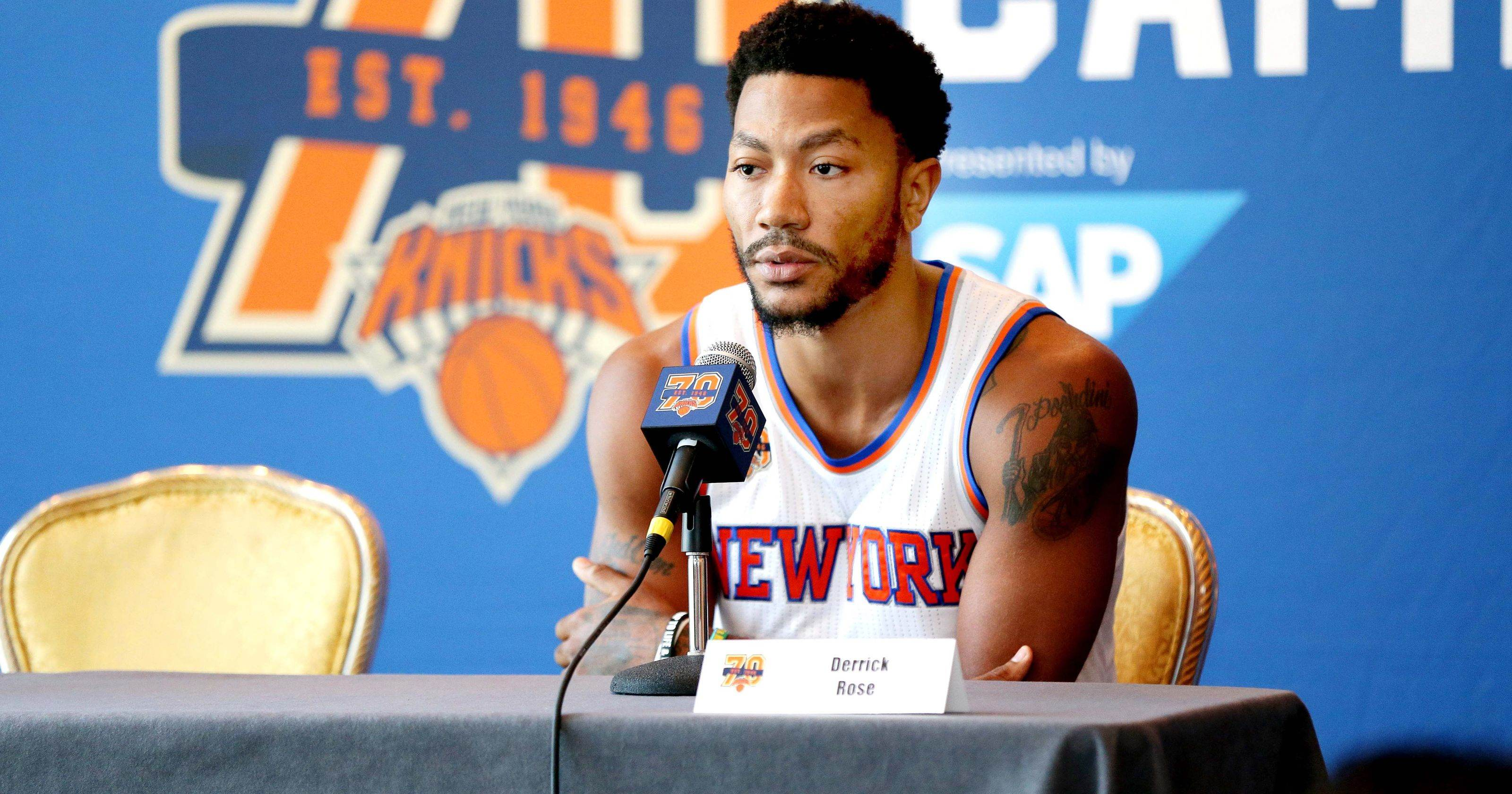 """It Sucks"" PG Derrick Rose Voices His Frustration"