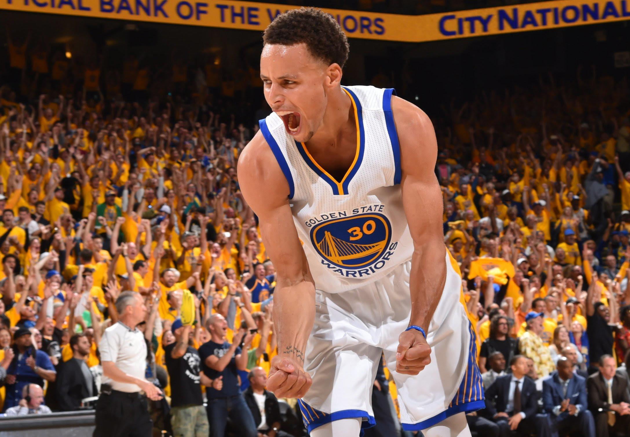 Steph Curry Went Absolutely Bonkers Last Night