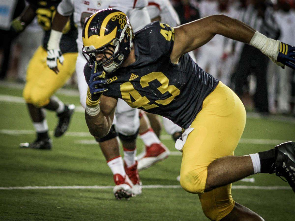 2017 NFL Draft: Reviewing Michigan DE Chris Wormley 1