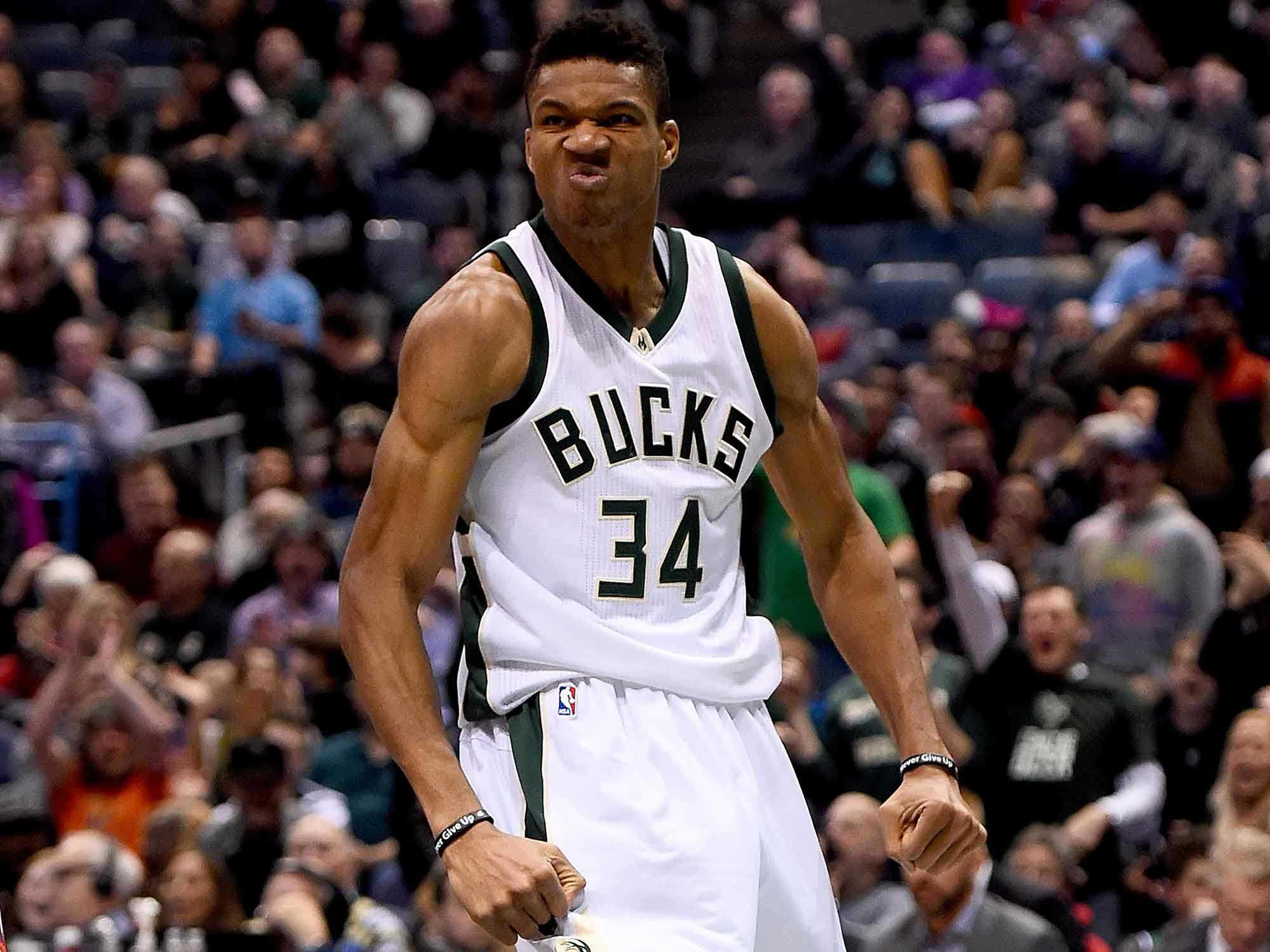 Giannis Antetokounmpo Was Ridiculous